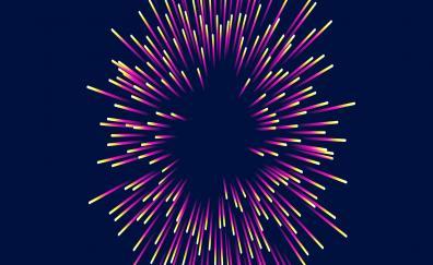 Lines, sparks, scatter, patterns