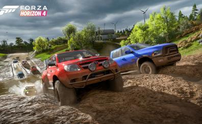 Forza Horizon 4, E3 2018, vehicles, car race