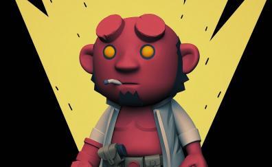 Hellboy dwarf art