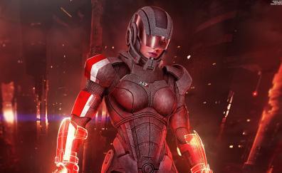 Female shepard sentinel, Mass Effect: Andromeda