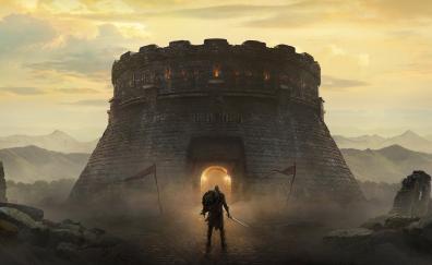 The elder scrolls blades castle warrior