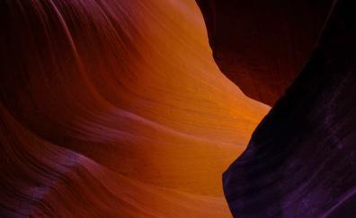 Dark, canyon, rocks