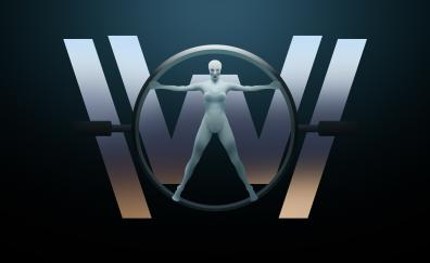 Westworld 4k tv show digital art