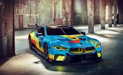 BMW M8 GTE, front, sports car