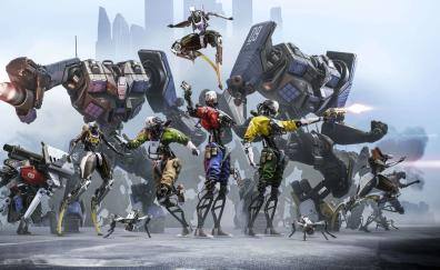 Robo recall figthers video game 4k