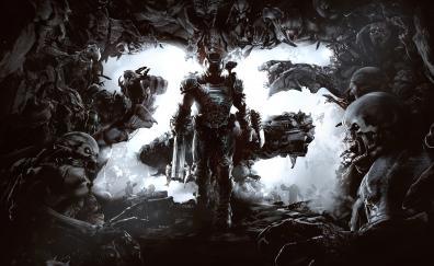 Dark, Doom, 2016, video game