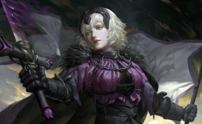 Jeanne d arc alter anime girl