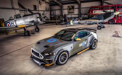 Ford eagle squadron mustang gt 2018 4k