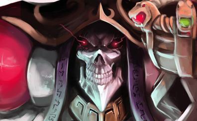 Skull overlord art king