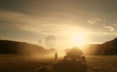 Landscape lost in space 2018 tv series 4k