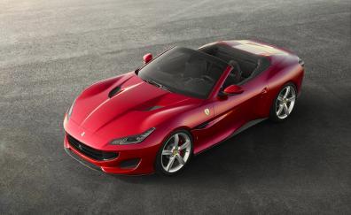 Ferrari portofino 2018 4k