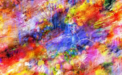 Colorful texture abstract