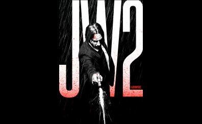 John Wick 2, movie, illustrated