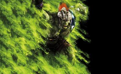 Thor: Ragnarok, movie, Angry Hulk