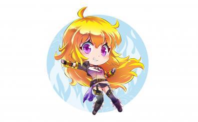 Kid version anime girl yang xiao long