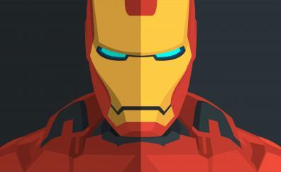 Iron man minimal 4k