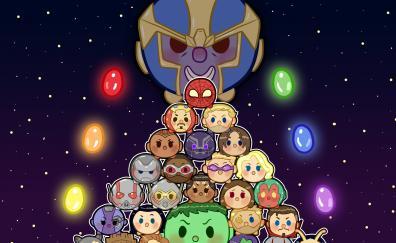 Avengers infinity war tsum artwork