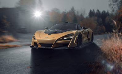 Off-road, front, 2018 McLaren 720S
