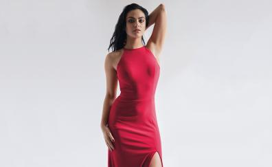 Camila mendes red dress