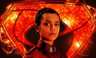 Georgina campbell as lyta zod krypton