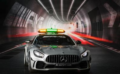 Mercedes amg gt r f1 safety car front