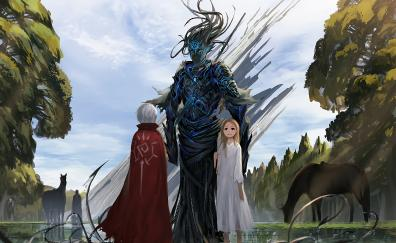 Fantasy anime girl original