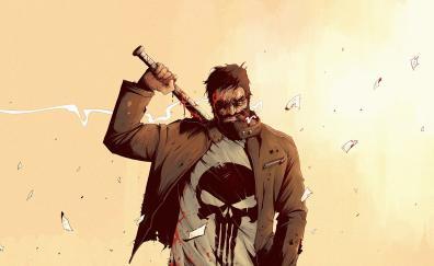 Punisher comics art