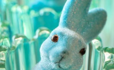 Hare bunny figure