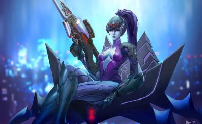 Widowmaker overwatch game artwork