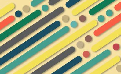 Abstract stripes dots geometrical