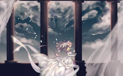 Wedding dress, white, frankenstein, fate/apocrypha