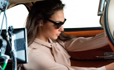 Gal gadot gucci photoshoot inside car 4k