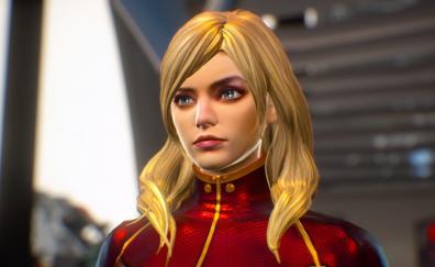 Captain marvel video game marvel vs capcom infinite
