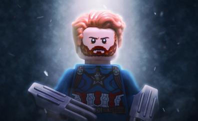 Captain america lego toy avengers infinity war