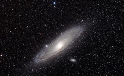 Stars spiral galaxy sapce