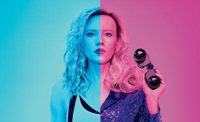 Kate mckinnon in the spy who dumped me 2018 movie