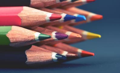Multi-colors, pencil, sharp tip