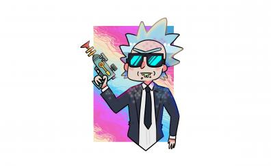 Rick and morty artwork