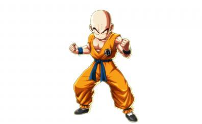 Bald krillin dragon ball fighterz