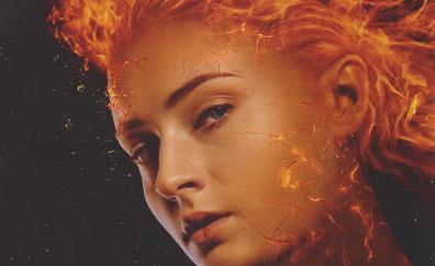 Sophie turner, X-Men: Dark Phoenix, 2018 movie, poster