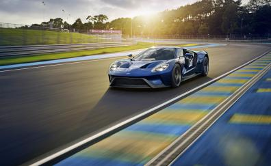 Ford gt on road