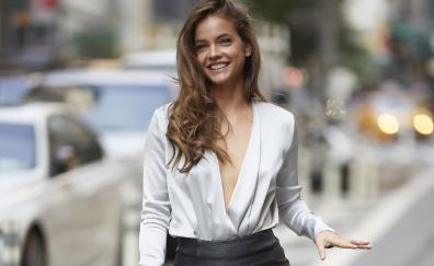 Barbara Palvin, outdoors, pretty smile