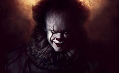 Pennywise the dancing clown art