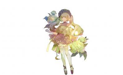 Original anime girl beautiful
