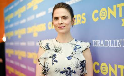 Hayley Atwell at premier, smile, 2018