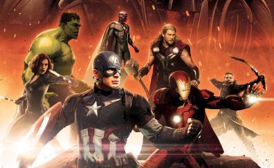 Avengers age of ultron hulk black window captain america