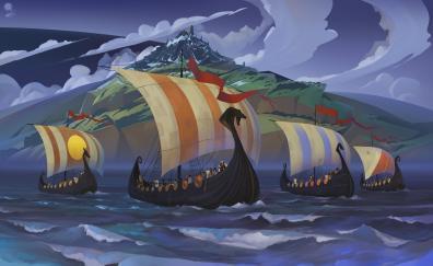 The banner saga vikings warrior