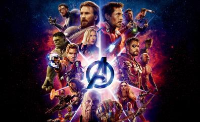 Avengers infinity war latest poster 2018