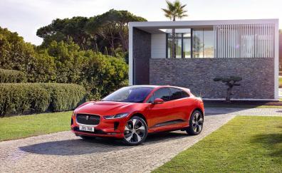 Jaguar i pace ev400 awd hse geneva motor show 2018 4k