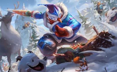Snowman, Master Yi, online game, 2018, League of Legends